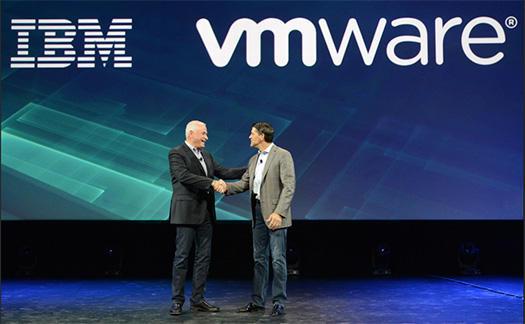 IBMとVMwareがクラウドで提携