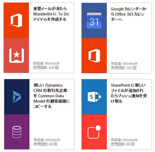 マイクロソフト、IFTTT的なサービス連係サービス「Microsoft