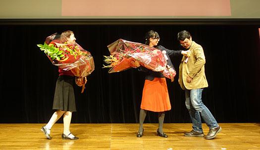 Ruby25 花束贈呈2