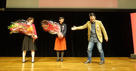 Ruby25 花束贈呈3