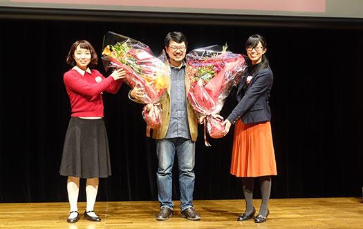 Ruby25 花束贈呈4