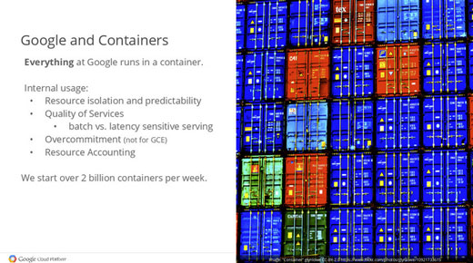 Google and Containers