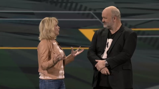 Diane Bryant and Werner Vogels
